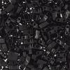 Miyuki Tila Half Cut 5X2.3mm 2Hole Black Opaque